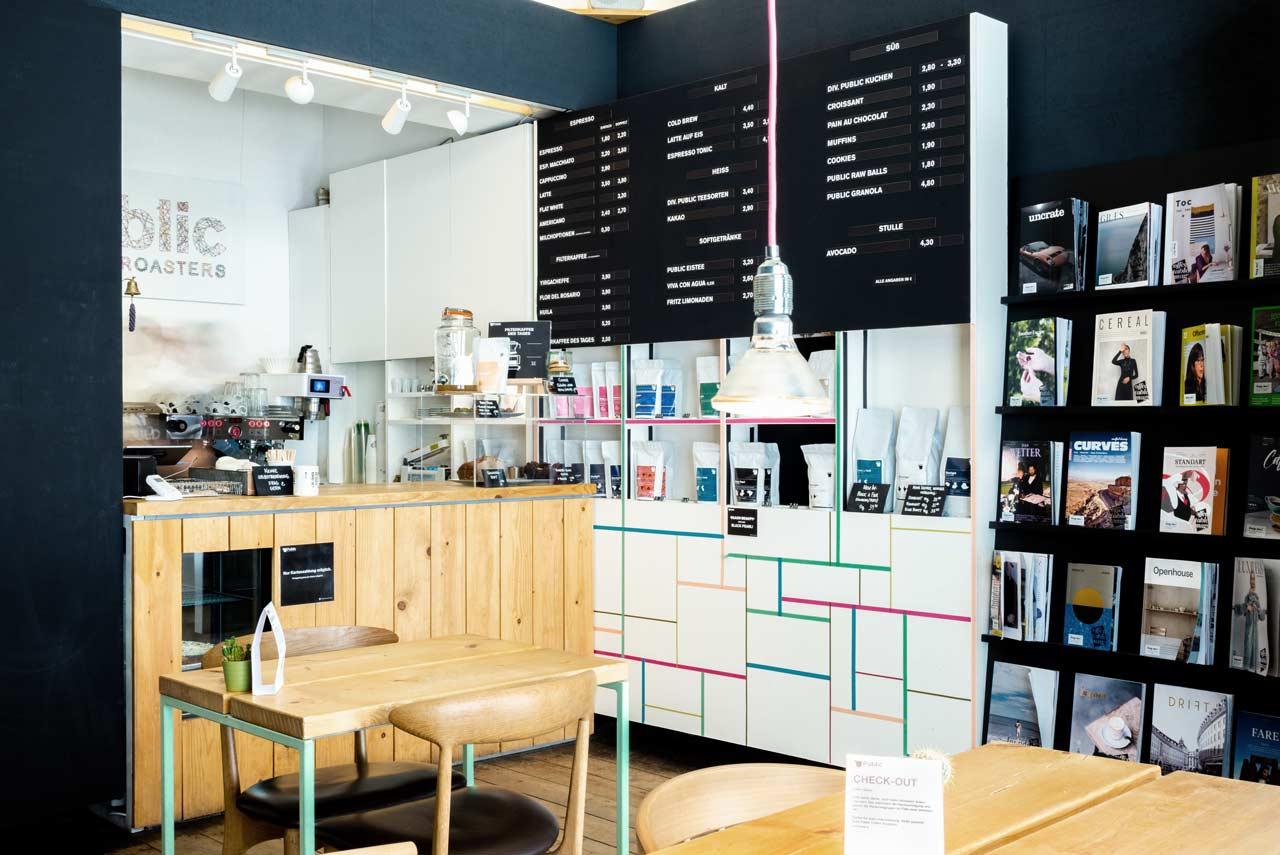 Café - Wexstraße - Kaffeerösterei Hamburg Public Coffee Roasters