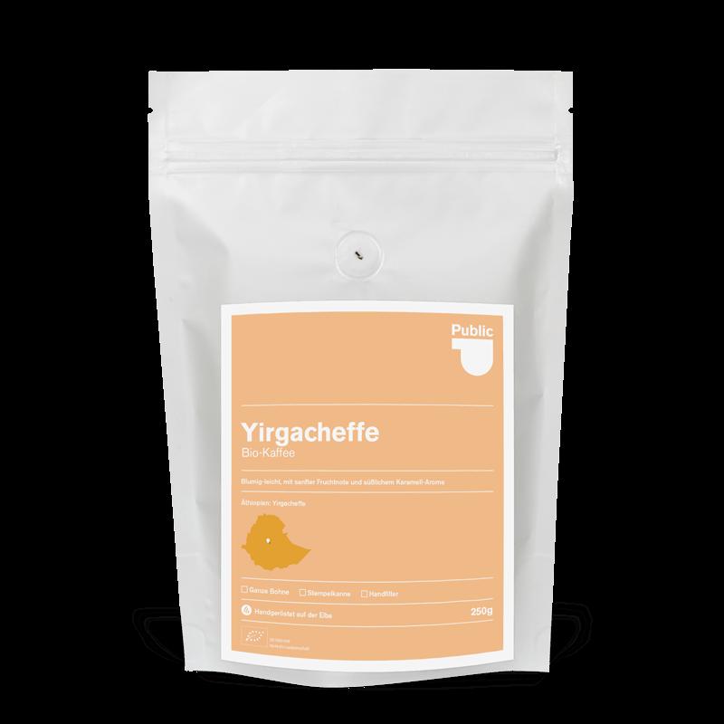 Filterkaffee - Yirgacheffe Bio-Kaffee - PCR Kaffeerösterei Hamburg