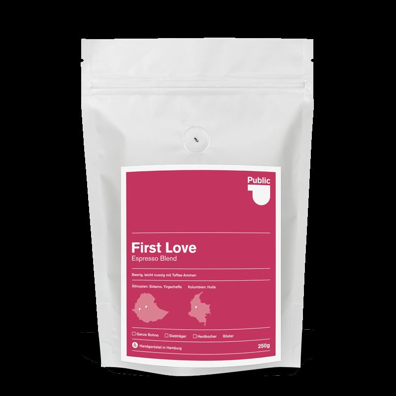 Espresso - First Love Espresso Blend - PCR Kaffeerösterei Hamburg
