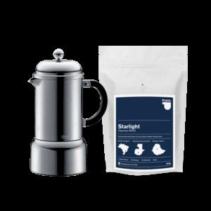 Geschenke für Kaffeeliebhaber - Easy Espresso Set - PCR Kaffeerösterei Hamburg